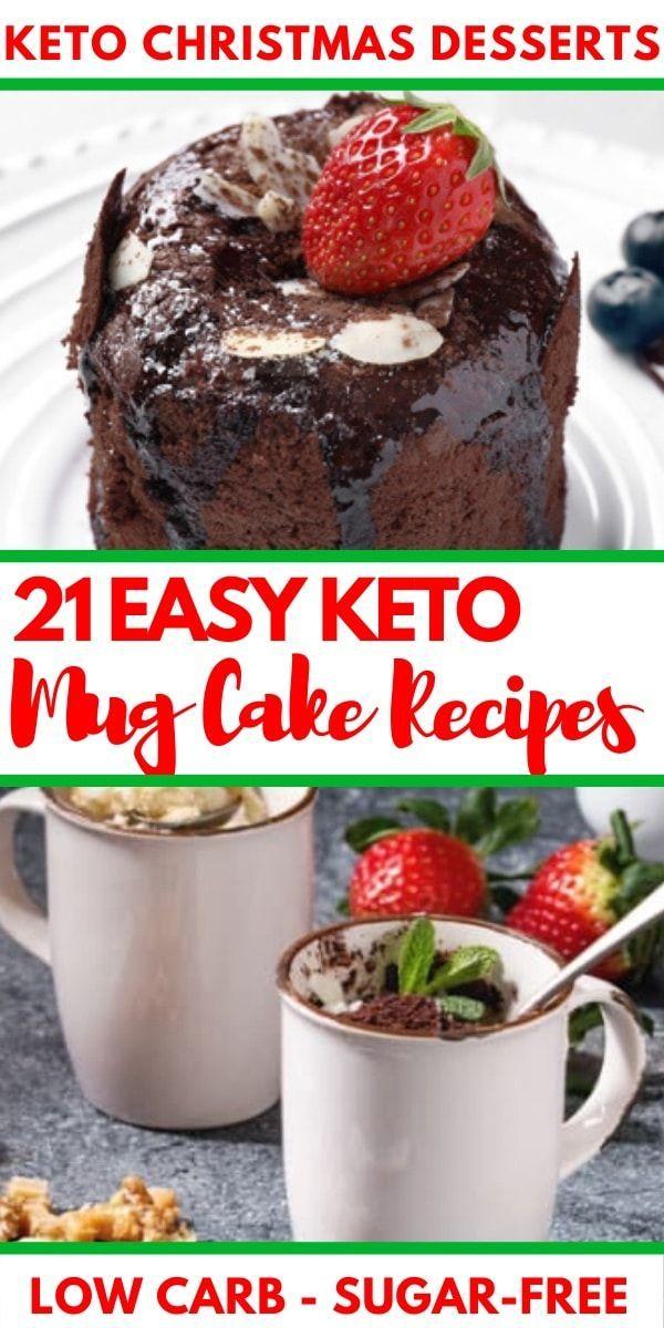 21 Keto-Becher-Kuchen-Rezepte: Niedrige Carb Nachtische, die Sie in den Minuten bilden können   – KETO DIET FOR BEGINNERS