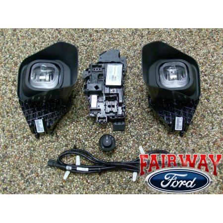 11 thru 14 Ford Super Duty F250 F350 OEM Ford Parts Fog