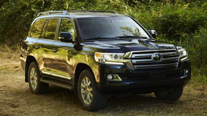 2018 Toyota Land Cruiser Redesign Review Price
