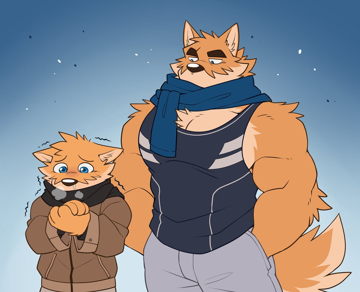 Recent weather FREEZING! Furry art, Anthro furry, Furry