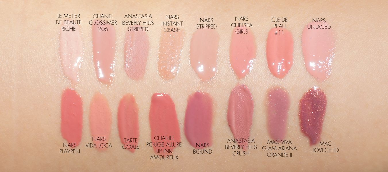 The Beauty Look Book Nars Velvet Lip Glide Swatch