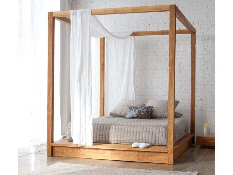 diy canopy bed frame plans