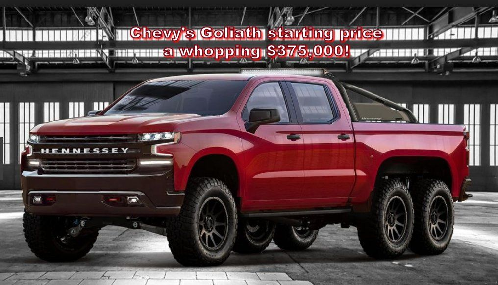 Chevy Hennessey Unbelievably Expensive Truck 6x6 Truck