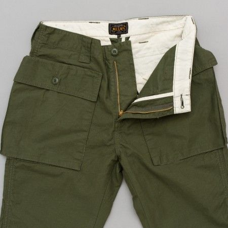 Beams Plus Mountain Pant in Olive