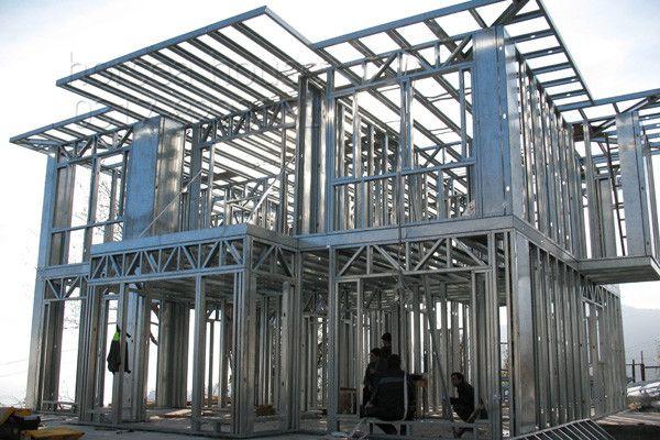 Charming Modern European Style #Villa Prefab Kit House #steel #construction #villa # House