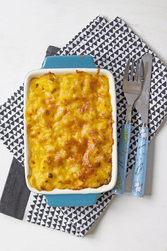 Butternut Squash Mac and Cheese -