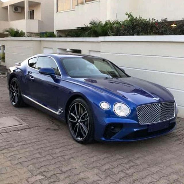 Fresh New Continental Gt In A Stunning Shade Of Blue Via