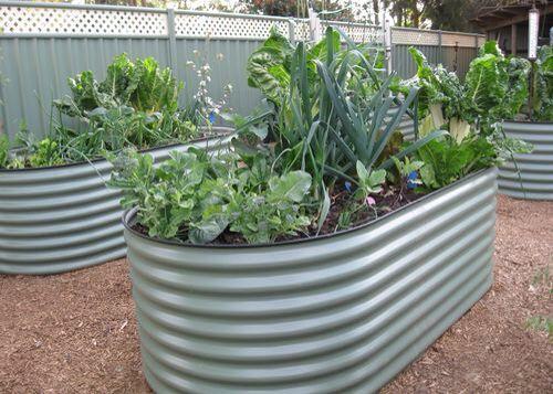 Colorbond Garden Edging Metal Raised Garden Beds Metal 400 x 300
