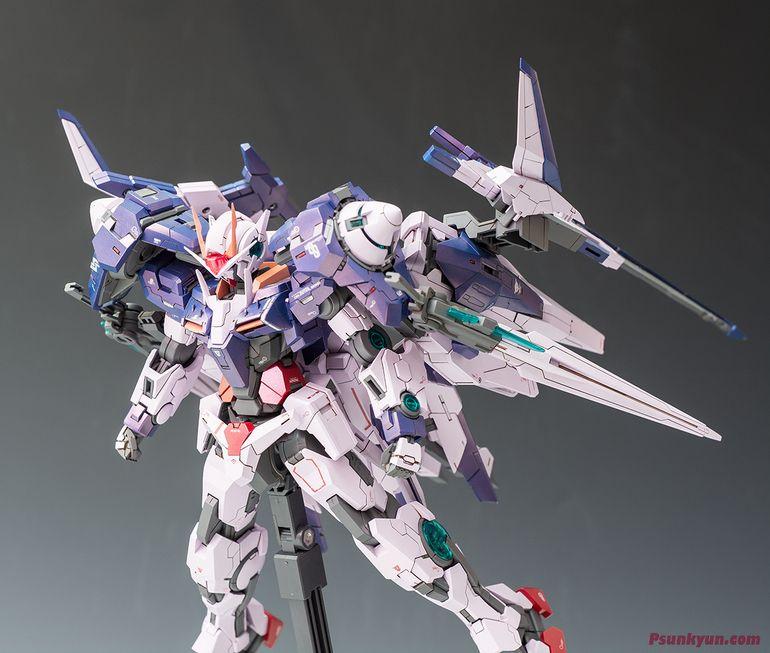 Custom Build: MG 1/100 00 XN Raiser [Trans-Am] - Gundam Kits