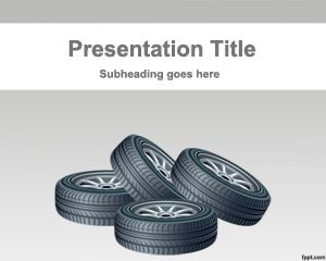 Free car tires powerpoint template with gray background color and free car tires powerpoint template with gray background color and tire illustration toneelgroepblik Images