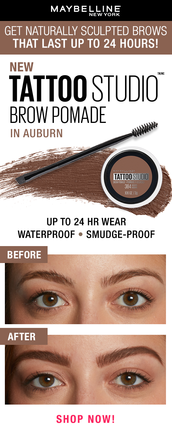 Tattoo Studio Brow Pomade Eyebrow Makeup Maybelline Tattoo Brow Pomade