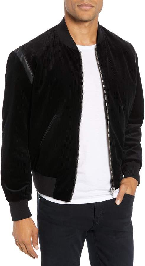 a87addcd7ae The Kooples Velvet Bomber #Jacket! | Men's Fashion & Style in 2019 ...
