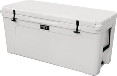 White Plastic Cooler Mounting Kit for Boats Keeps Cooler Secured in Place