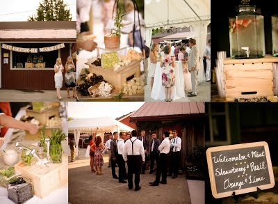 Pink Blossom Events: Melissa & Daniel ~ August 17, 2012