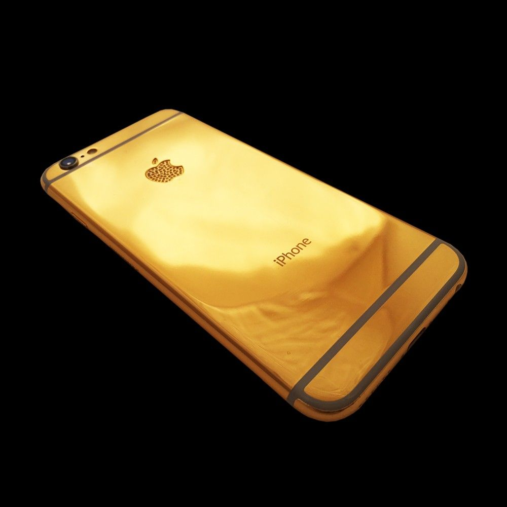 the good news is that you can now customize your iPhone 6 with real gold plating. click here http://www.24kfusion.com/luxury/iphonecrestal6i.html.