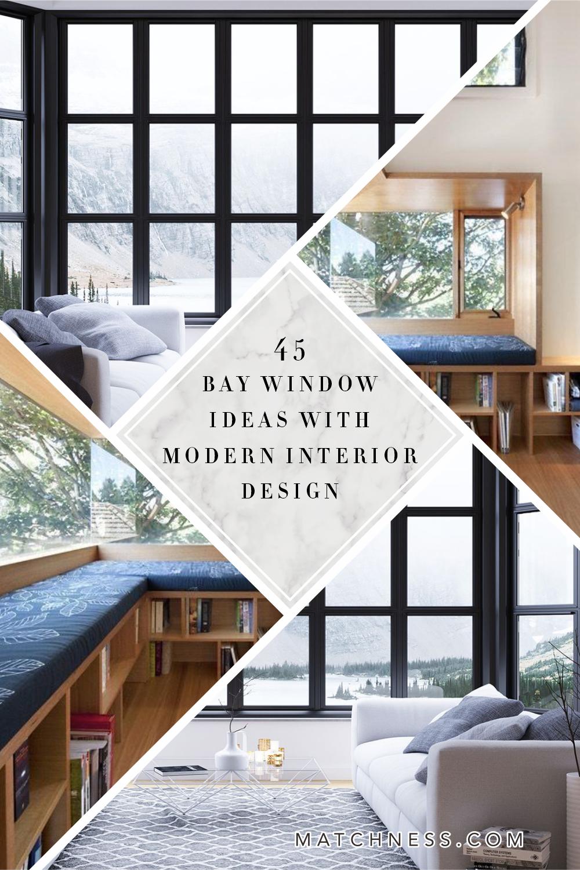 12 Bay Window Ideas with Modern Interior Design   Matchness.com ...