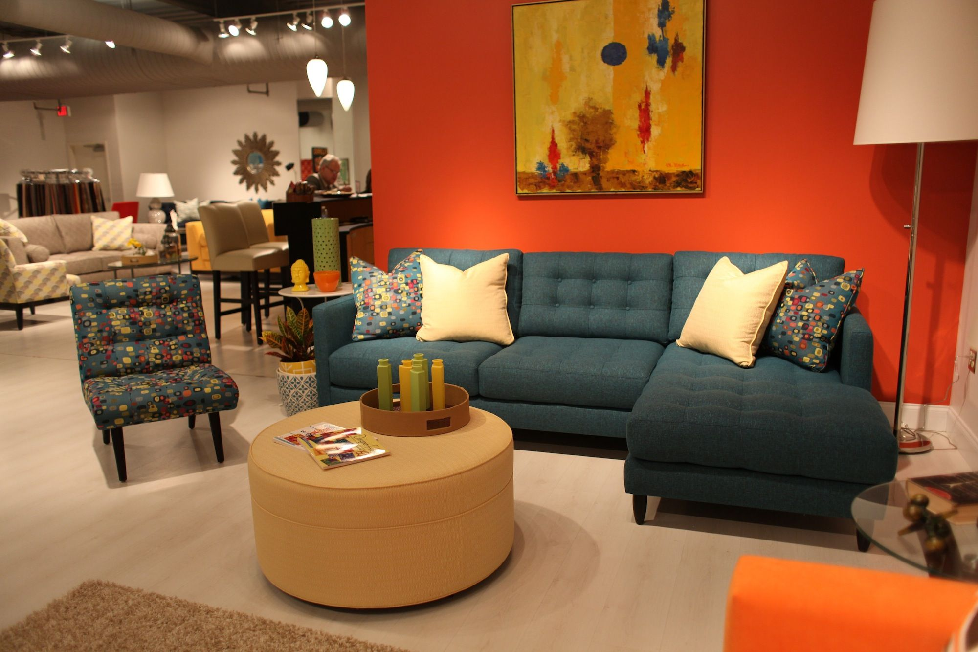 Younger Furniture James Sectional And Kelsey Chair Sectional Sofa Furniture Brown Sectional Sofa