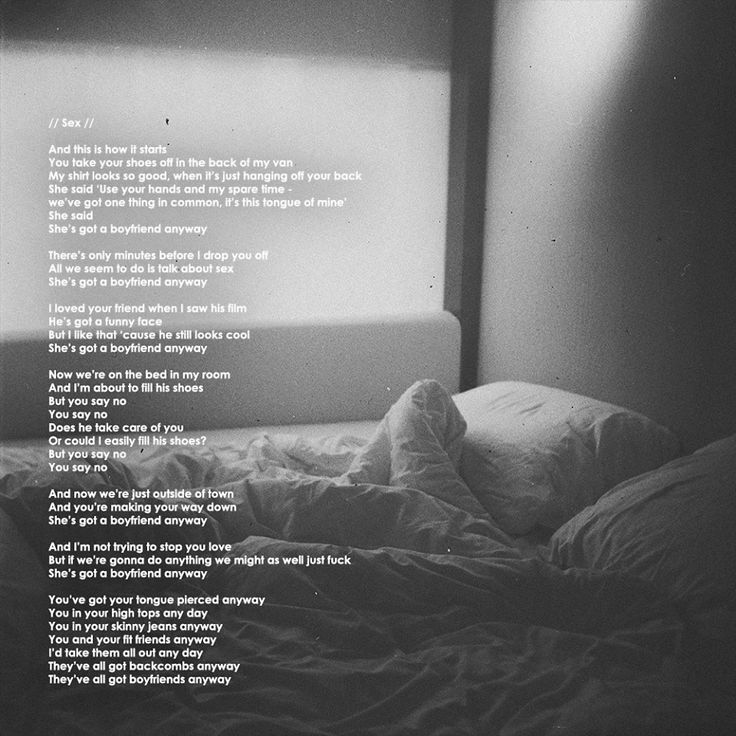 Lyric shes got you lyrics : the 1975 sex lyrics - Google Search | music | Pinterest