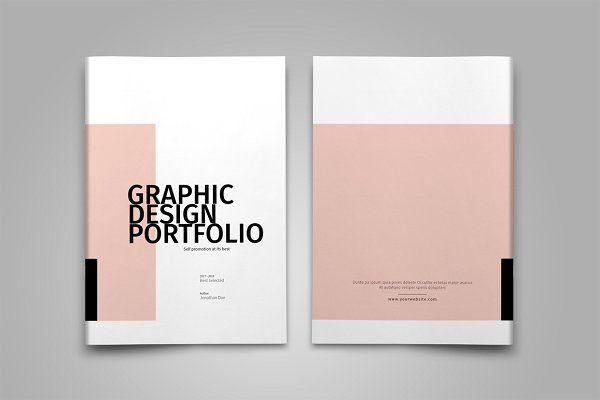 graphic design portfolio template brochures ���������������
