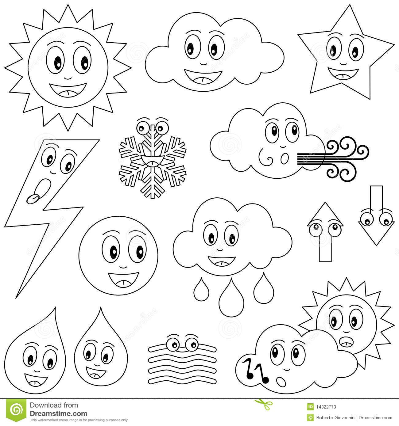 Water Drop Coloring Coloring Pages Preschool Coloring Pages