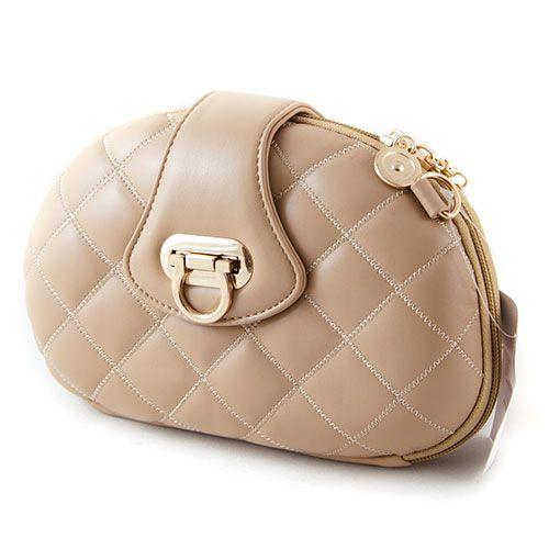 Bezowa Pikowana Torebka Chanelka Wizytowa Hit 2547484266 Oficjalne Archiwum Allegro Shoulder Bag Leather Saddle Bags