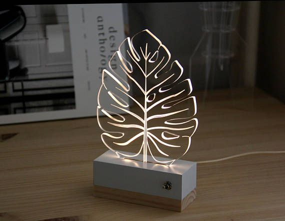 This Item Is Unavailable Night Light Lamp Monstera Lamp