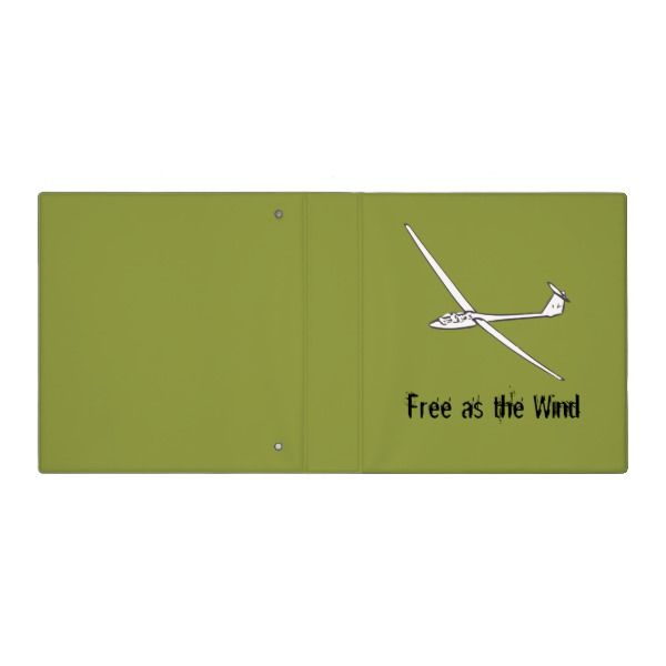 Free As The Wind 3 Ring Binder