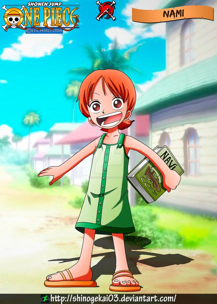 Nami Kid By Shinogekai03 One Piece Nami Cute Anime Character One Piece Anime