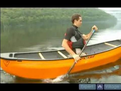 ▶ How to Steer and Paddle a Canoe : How to do a Forward Stroke in Canoeing - YouTube