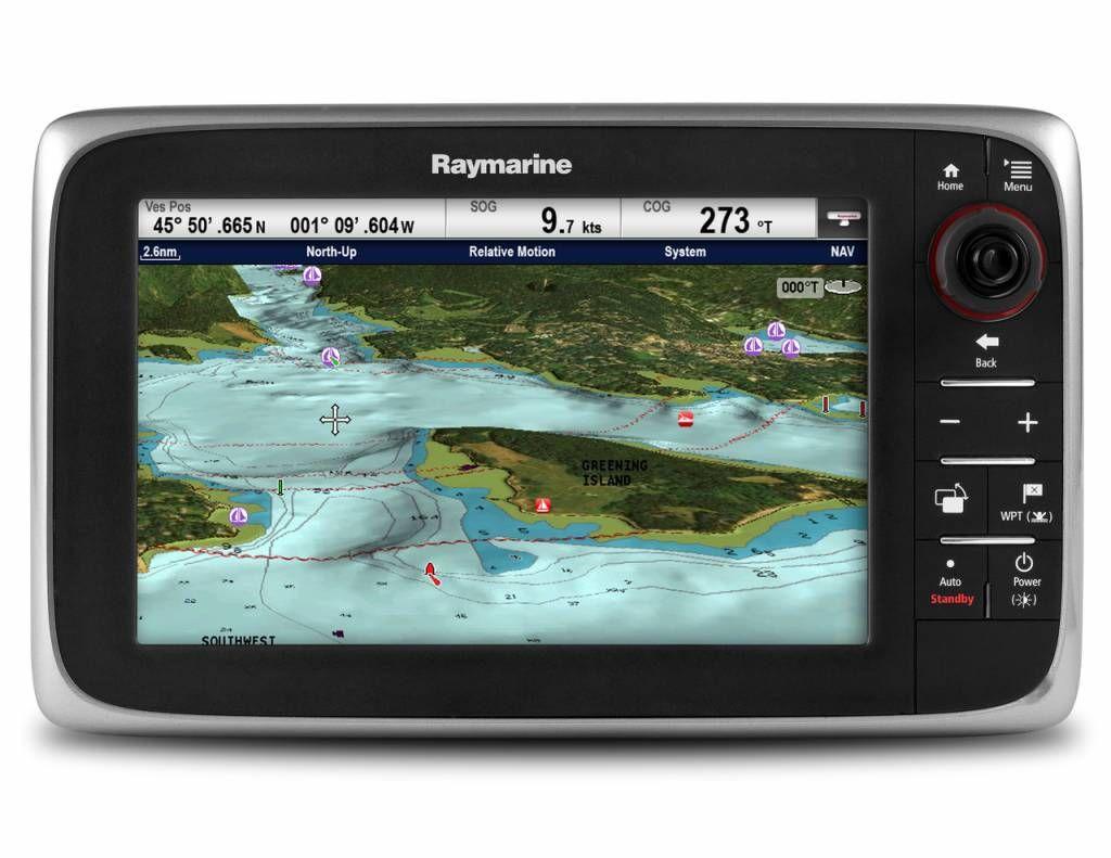 Raymarine Axiom 9 kaartplotter met GPS Marine Verkoop