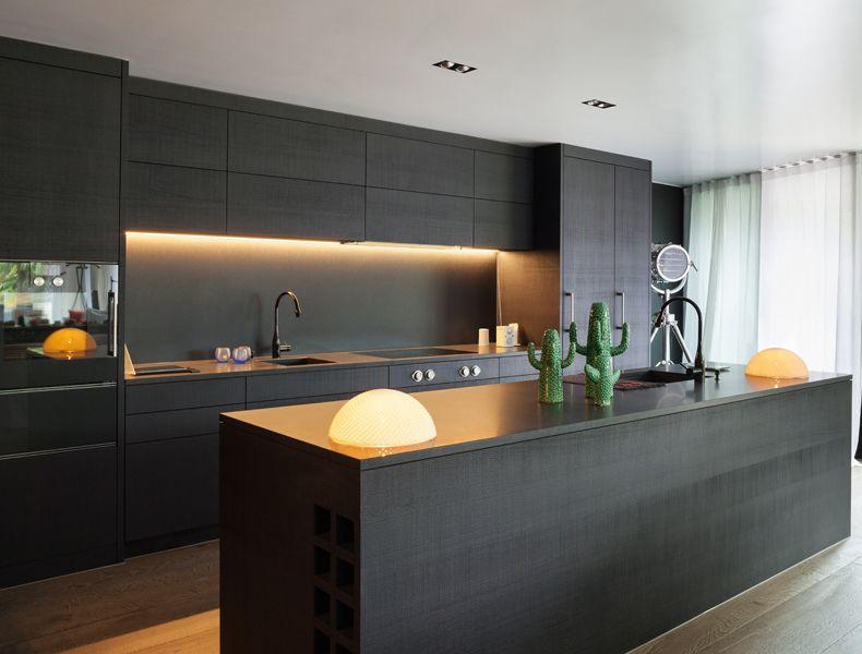Kitchen Work Area U Shaped Modern Modular Kitchen Design