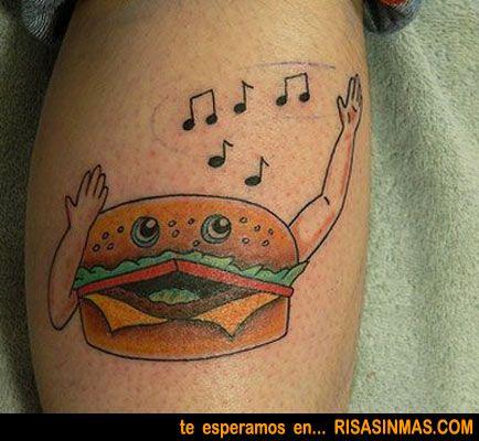 Los Tatuajes Mas Feos Del Mundo Terrible Tattoos Food Tattoos Bad Tattoos