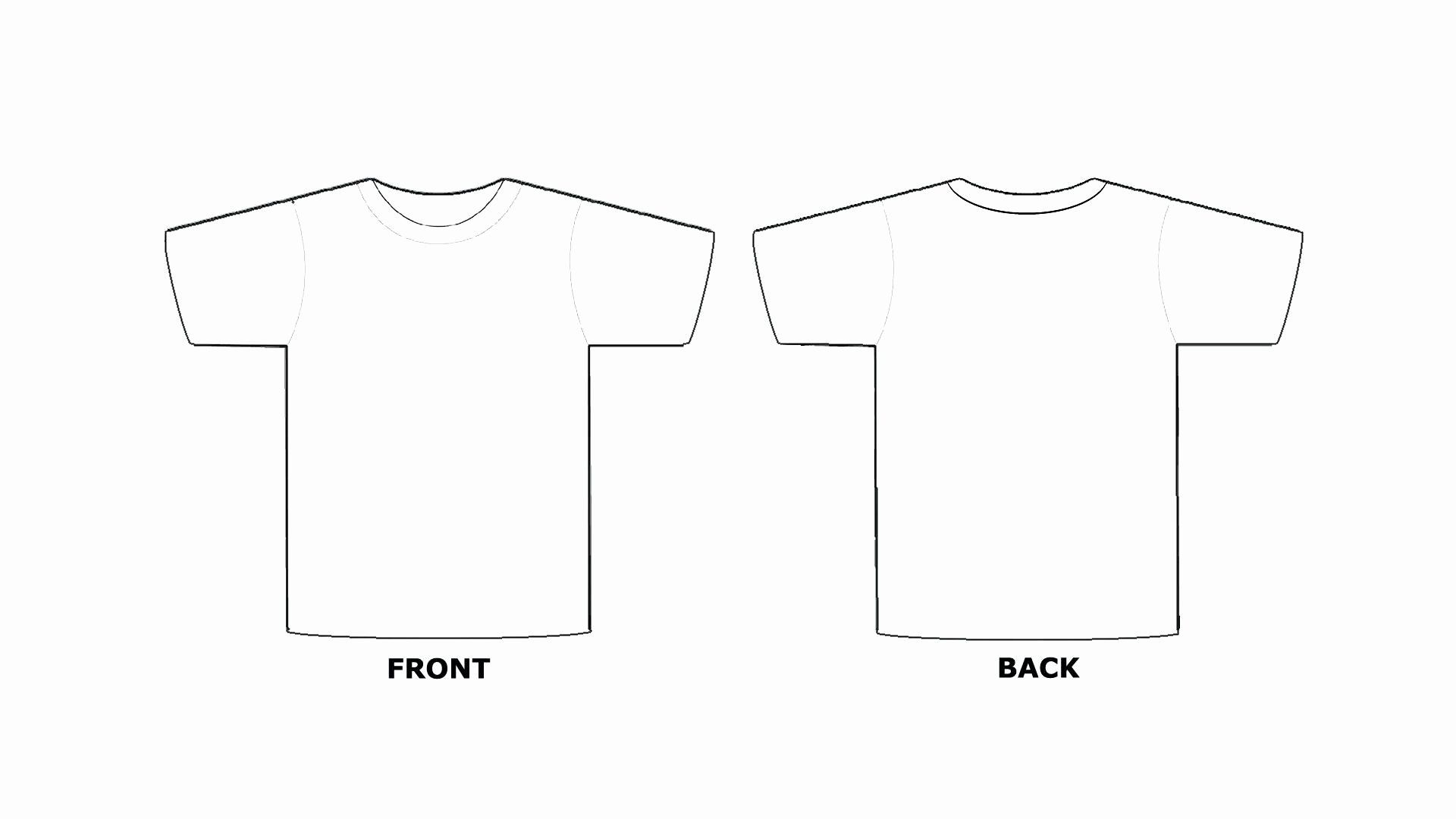 Download Blank Tshirt Template Unique Blank Tee Shirt Template Emmamcintyrephotography Shirt Template Funeral Program Template Tee Shirts
