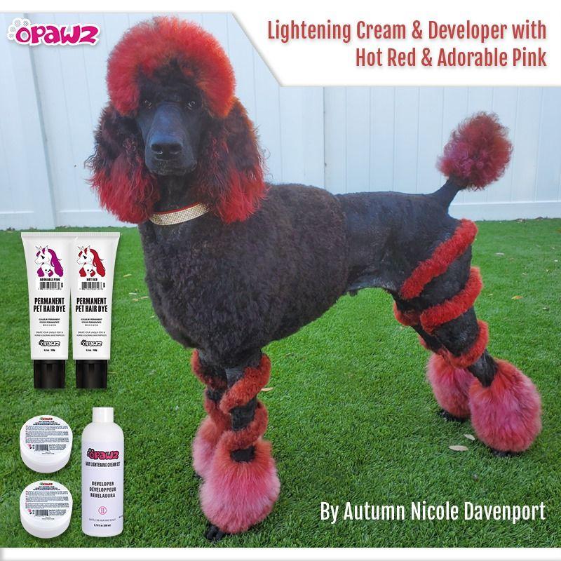 Opawz Permanent Dye For Dog And Horse In 2020 Dog Hair Dye Creative Grooming Dog Hair