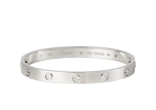 bracelet argent cartier