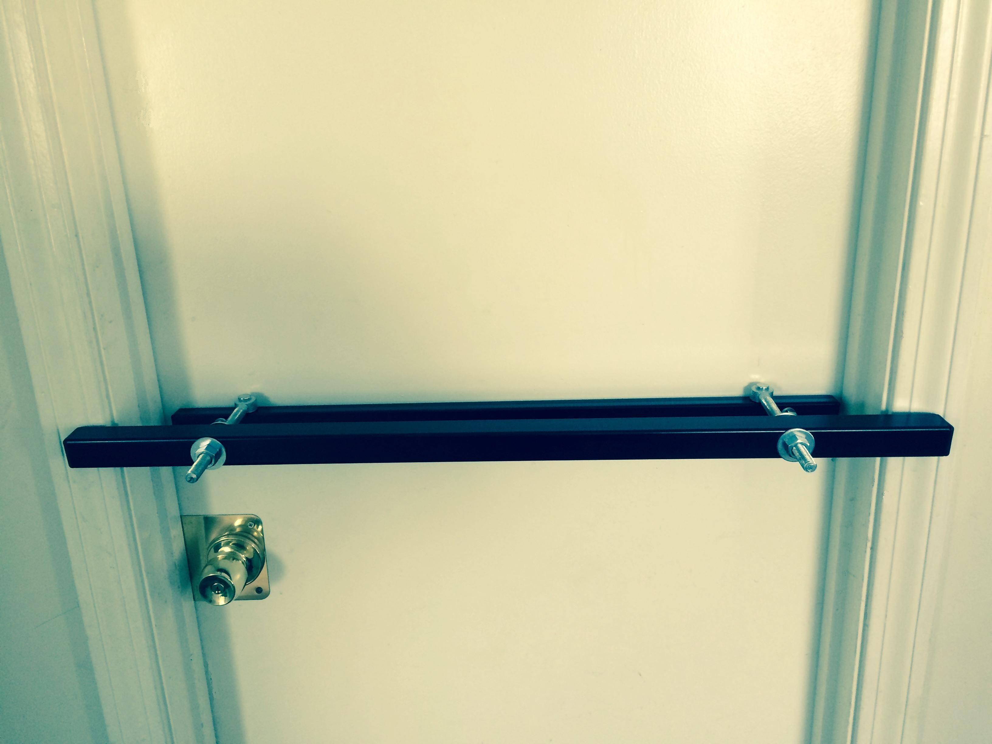 Outswing Door Security Lock Security Door Doors Door Bar