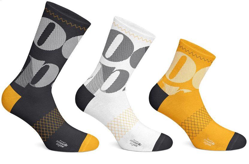 27 Socks Mockup Psd Templates For Cool Showcase Texty Cafe Cycling Socks Mockup Psd Socks