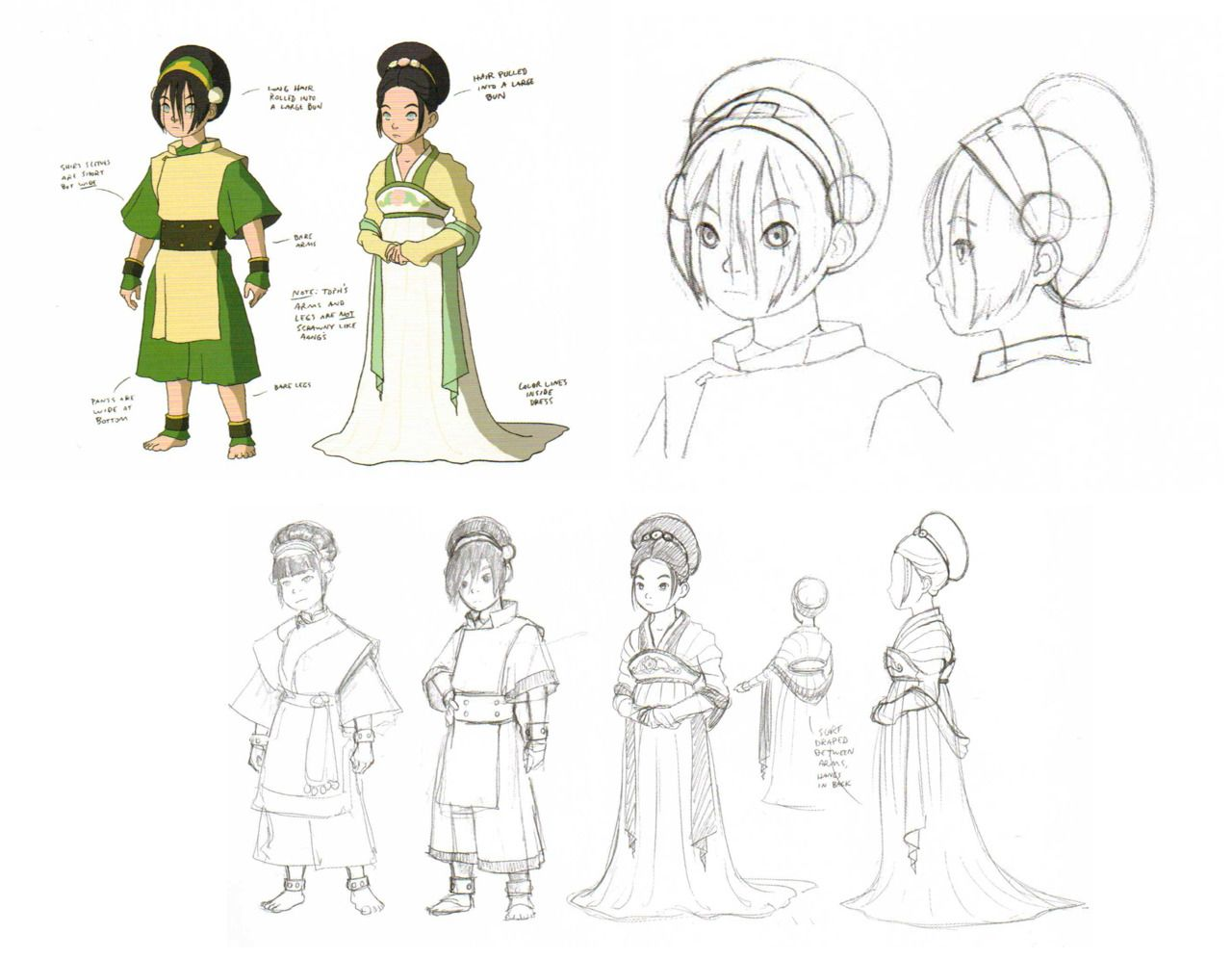 Animation Art Avatar The Last Airbender Model Sheets Avatar The Last Airbender Art Avatar Characters Avatar
