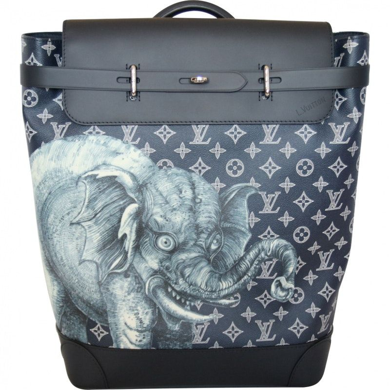 blue Leather LOUIS VUITTON Bag - Vestiaire Collective