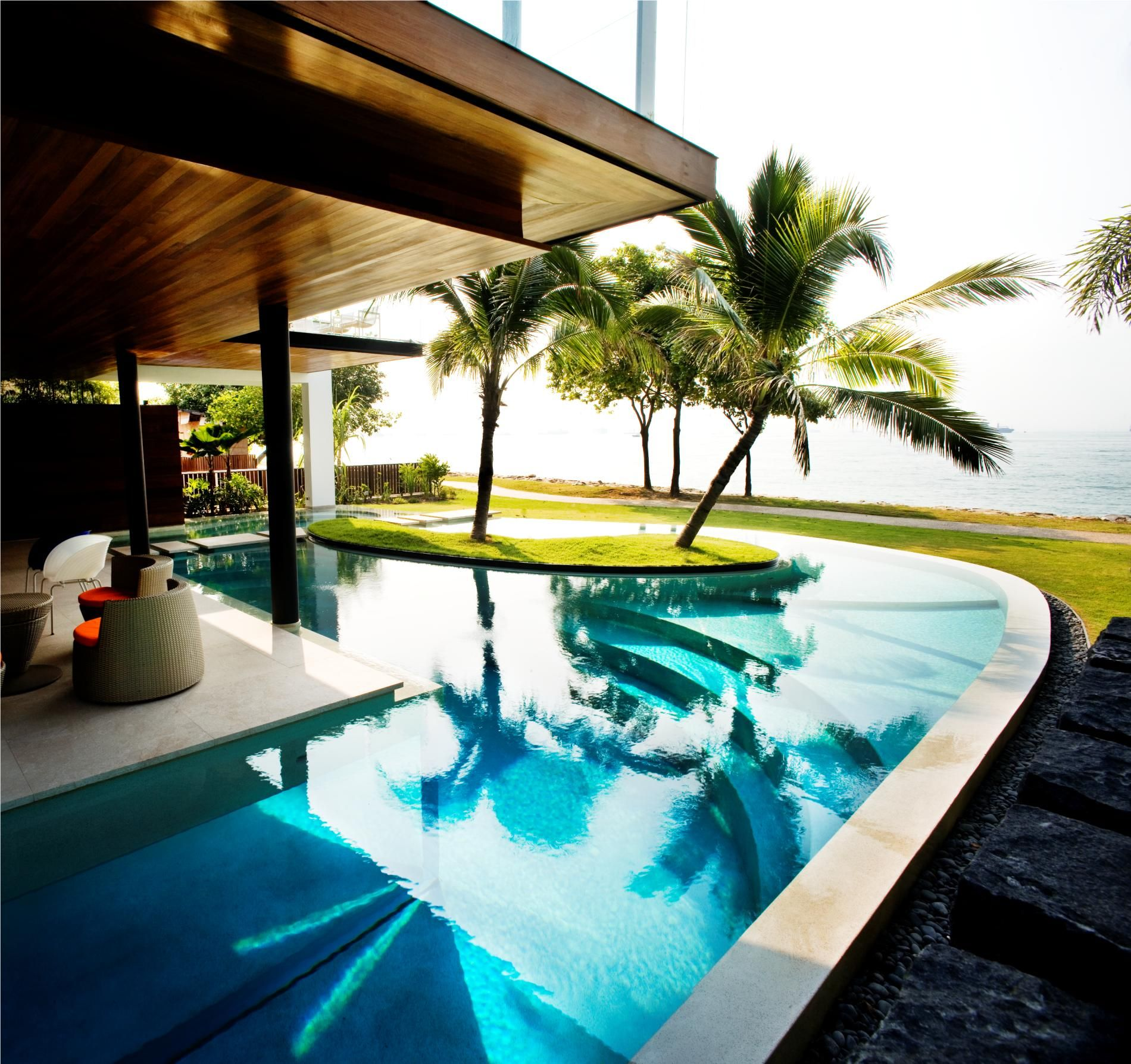 Cool Houses With Pools