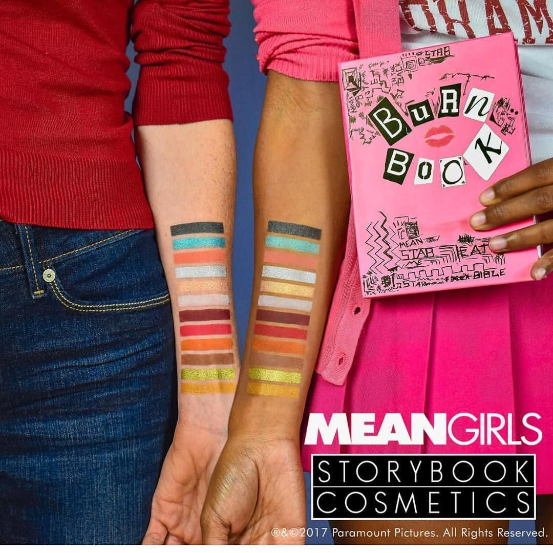 Storybook Cosmetics Burn Book palette, releasing November