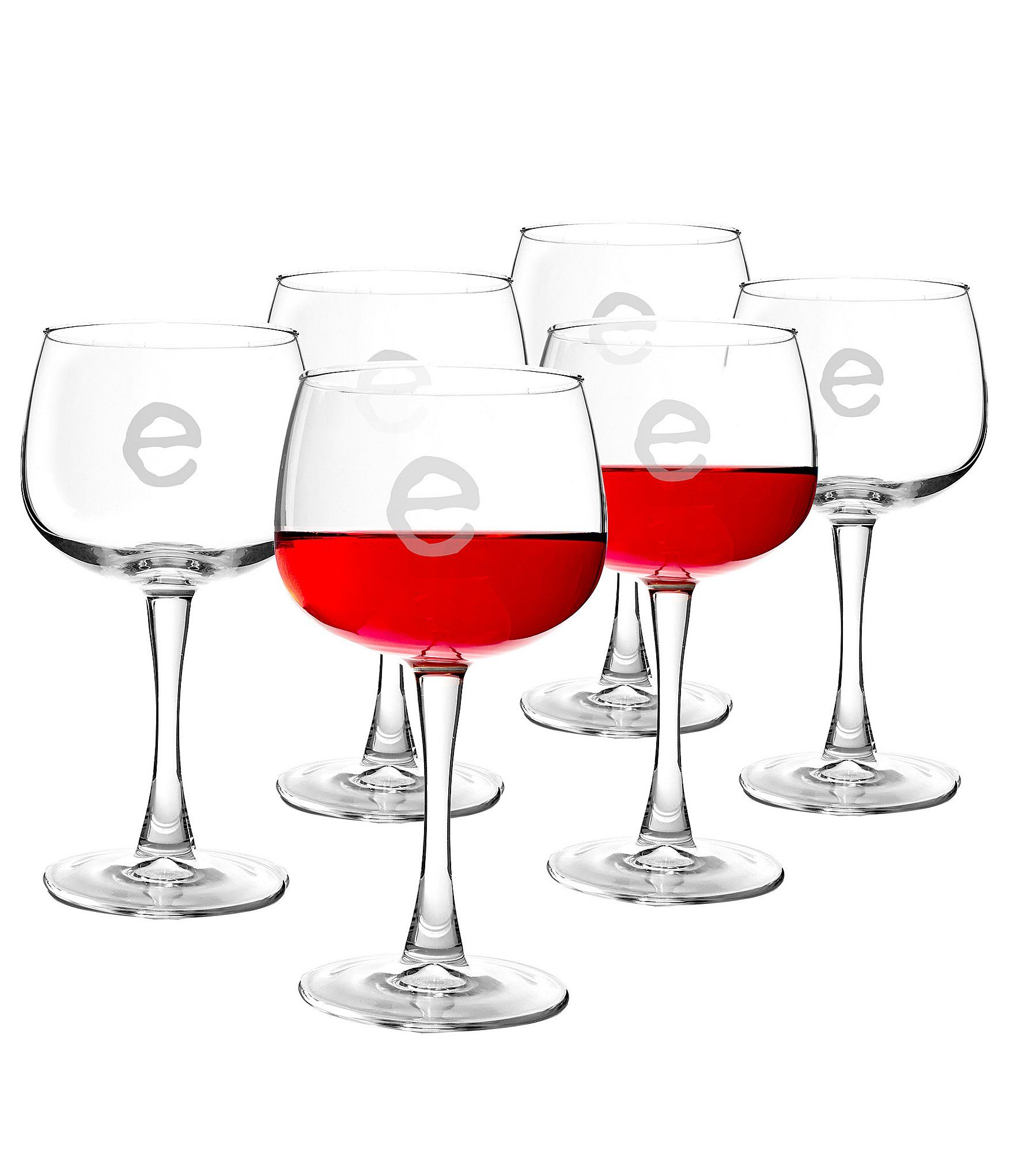 Cathy S Concepts Initial Red Wine Glasses Dillard S In 2020 Red Wine Glasses Wine Glass Set Wine Glass