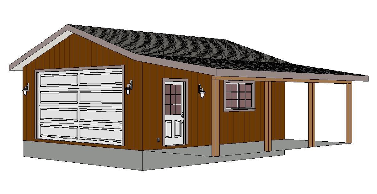 G280 22x24 9porch Jpg 1201 619 Garage Workshop Plans Garage Plans Garage Design