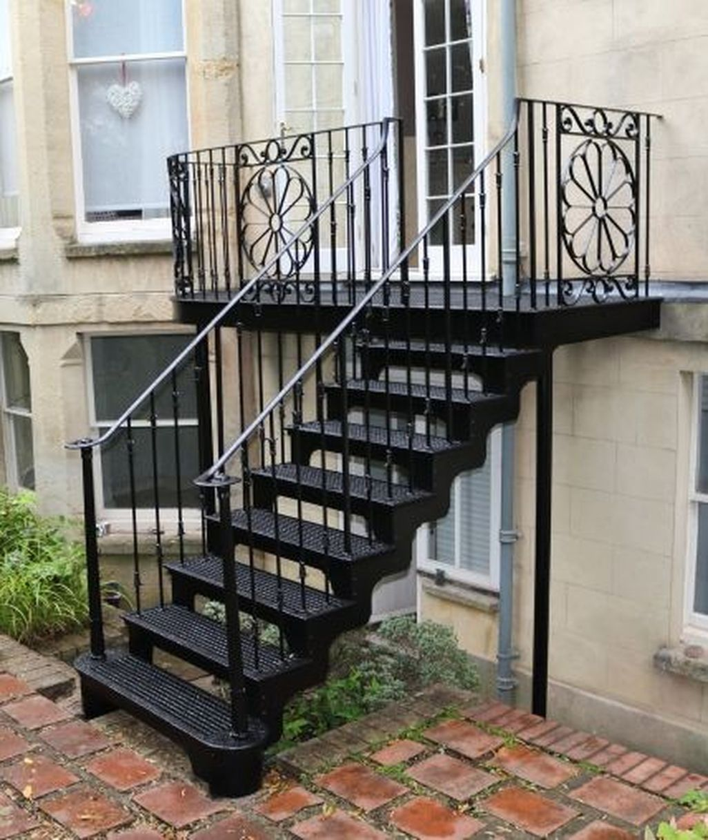 Fabulous Balcony Garden Vancouver For Your Home Staircase Outdoor Exterior Stairs Outside Stairs