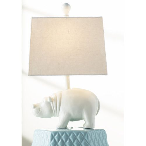 Found It At Allmodern Marcus Hippo 16 25 Table Lamp Lamp Table Lamp Kids Bedroom Lights