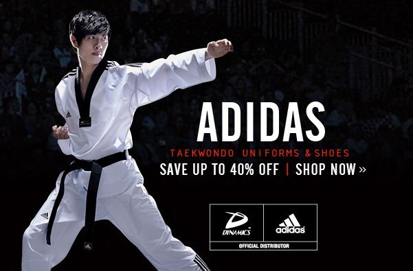 Adidas Taekwondo Uniform Sale | Dynamics Specials