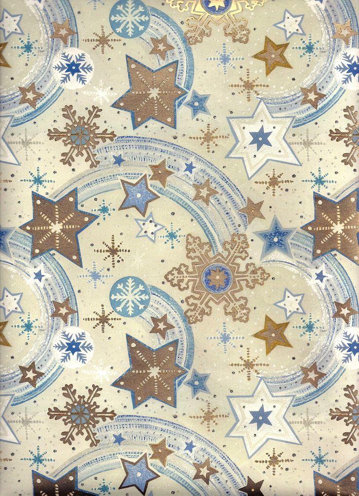 CHRISTMAS SNOWFLAKES ANDY STARS *