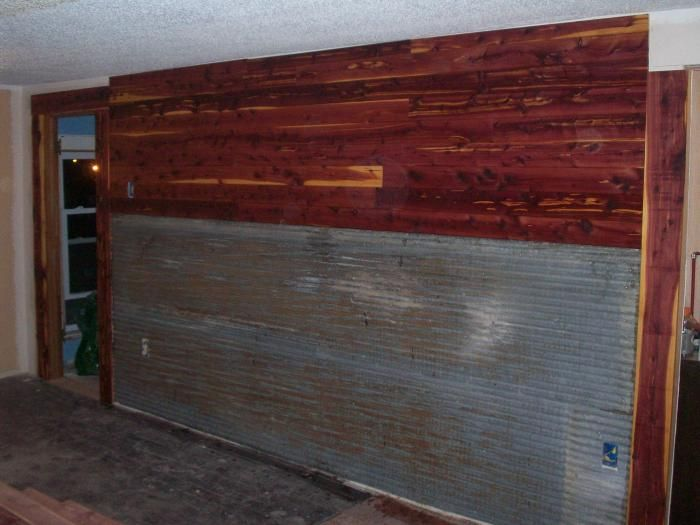 Corrugated Metal For Interior Walls | Corrugated Galvanized Steel On Interior  Walls   Homesteading Today