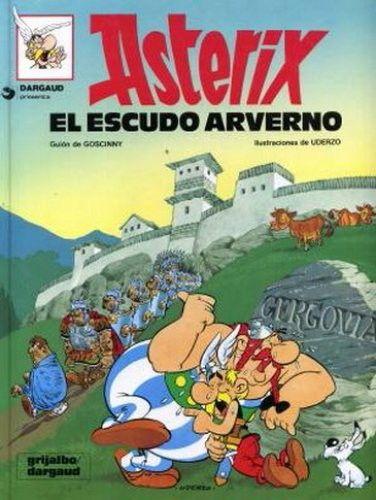 El Escudo De Averno Asterix Y Obelix Libros En Línea Portadas