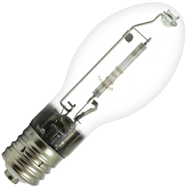 100 Watt Hps Hid Light Bulb Lu100 Ed23 5 Fluorescent Light Bulb Hid Light Bulbs Bulb
